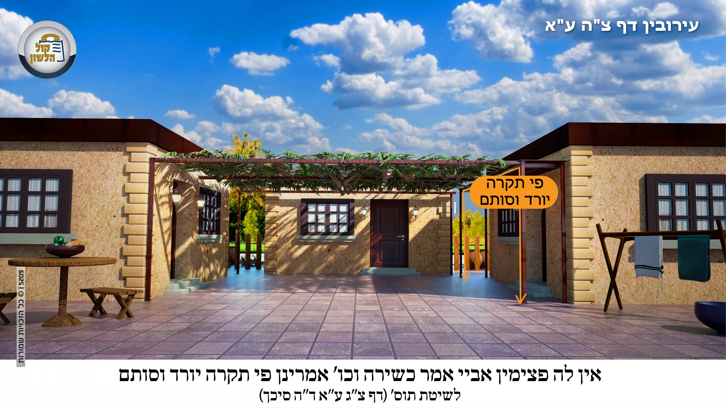 הרב אברהם צבי וייס, הרב אברהם צבי ווייס מסכת עירובין דף צה